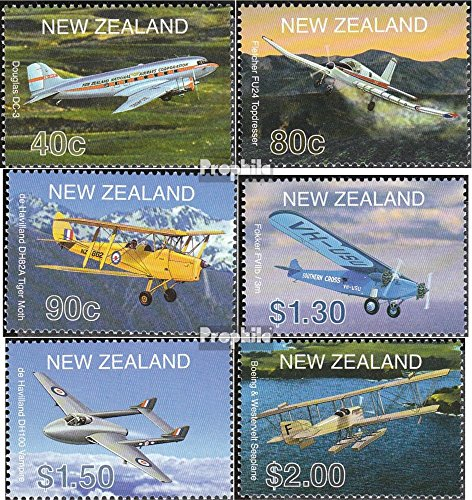 new-zealand-1908-1913-completeissue-2001-aircraft-stamps-for-collectors