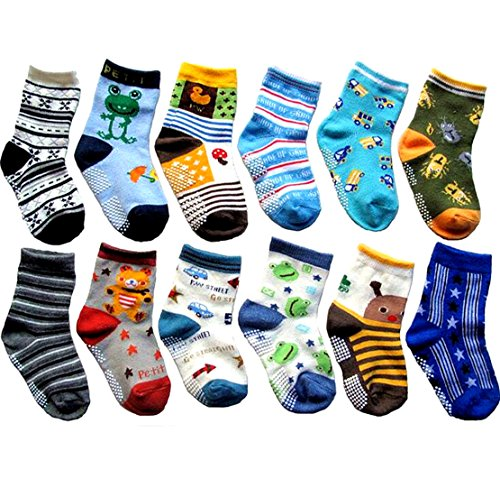 Non Skid Cotton Socks Bootie 12 Pack product image