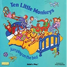 Ten Little Monkeys Jumping on the Bed (Classic Books with Holes) published by Child's Play (International) Ltd (2001)