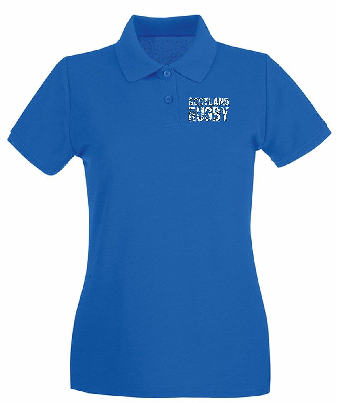 T-Shirtshock - Polo para Mujer TRUG0172 Ruggershirts Scotland ...