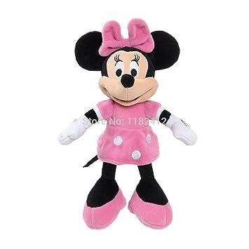 0a54b1ff43e Original Minnie Plush Toys Pelucia Minnie Pink Stuffed Doll 25CM 10   Mickey  Mouse Toys