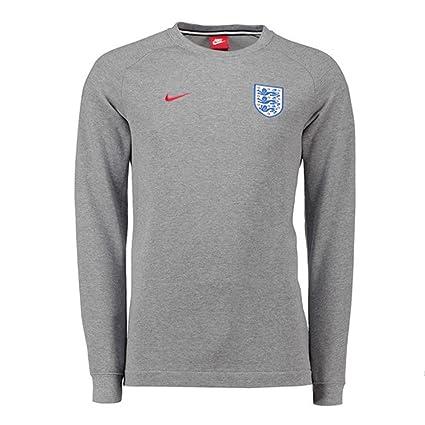 229137ffc2f7 Amazon.com   Nike 2018-2019 England Authentic Modern Crew Sweater ...