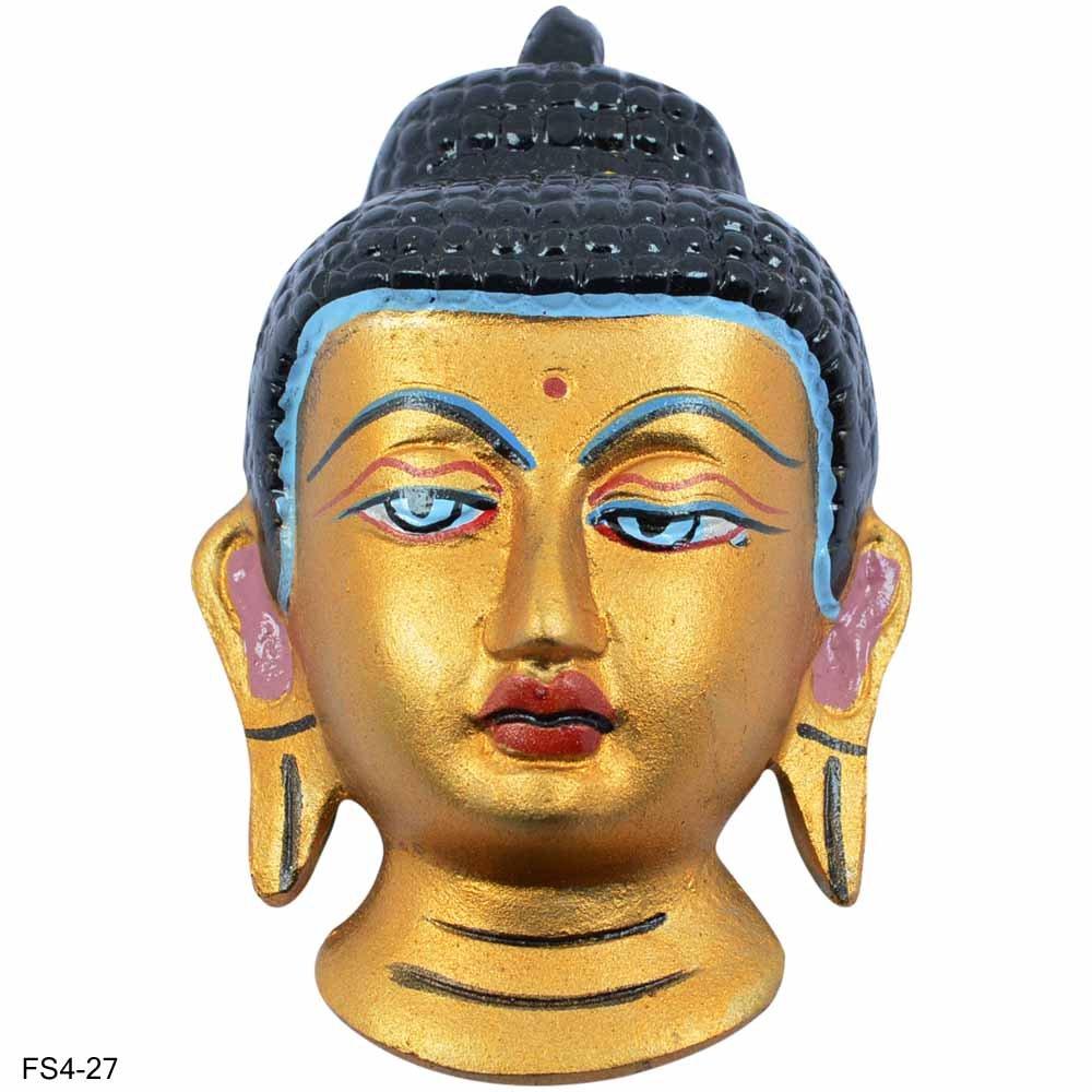 Buy Buddha Meditating Wall Hanging Mask, Vintage Buddhism Buddha ...