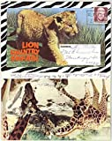 Lion Country Safari Theme Park - Laguna Hills Irvine California - 1972 Souvenir Postcard Folder