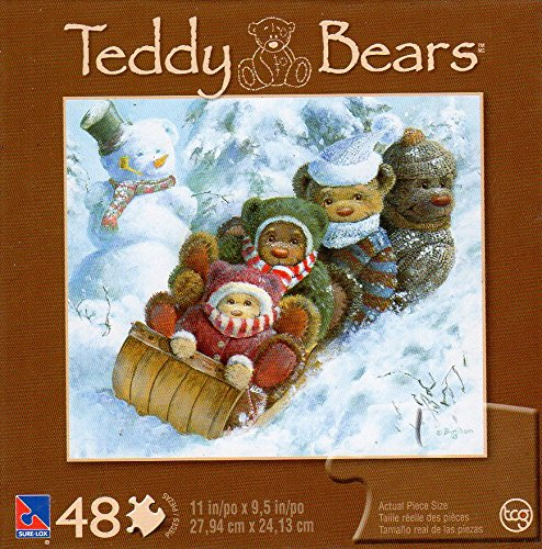 Teddy Bears - Winter Wonderland - 48 Piece Jigsaw Puzzle