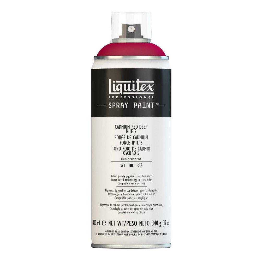 Liquitex プロフェッショナル スプレーペイント 12オンス 400ml Can レッド 4455311 B008N7H9CE Cadmium Red Deep Hue 5 Cadmium Red Deep Hue 5