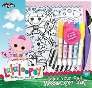 Cra-Z-Art Lalaloopsy Color Your Own Tote Bag