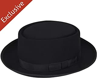 product image for Hats.com Danger Pork Pie - Exclusive Black, X-Large