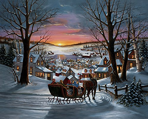 Vermont Christmas Company Peace on Earth Jigsaw Puzzle 1000 Piece