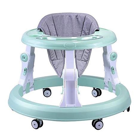 Andador de bebé con seis ruedas multifunción para niños, con ...