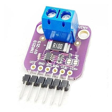 SODIAL(R) GY-219 INA219 I2C Bidirectional DC Current Power Supply Sensor  Module (purple)