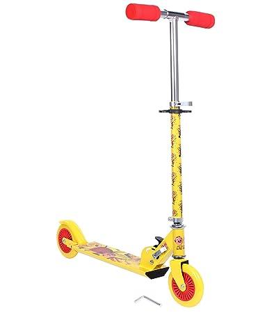 Motu Patlu 2 Wheel Scooter Yellow Amazon In Toys Games