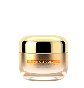 Vitamin C & Collagen Moisturizing Day Cream - Revitalizing | Firms & Brightens | Reduces Appearance Of Wrinkles and Fine Lines - 50mL