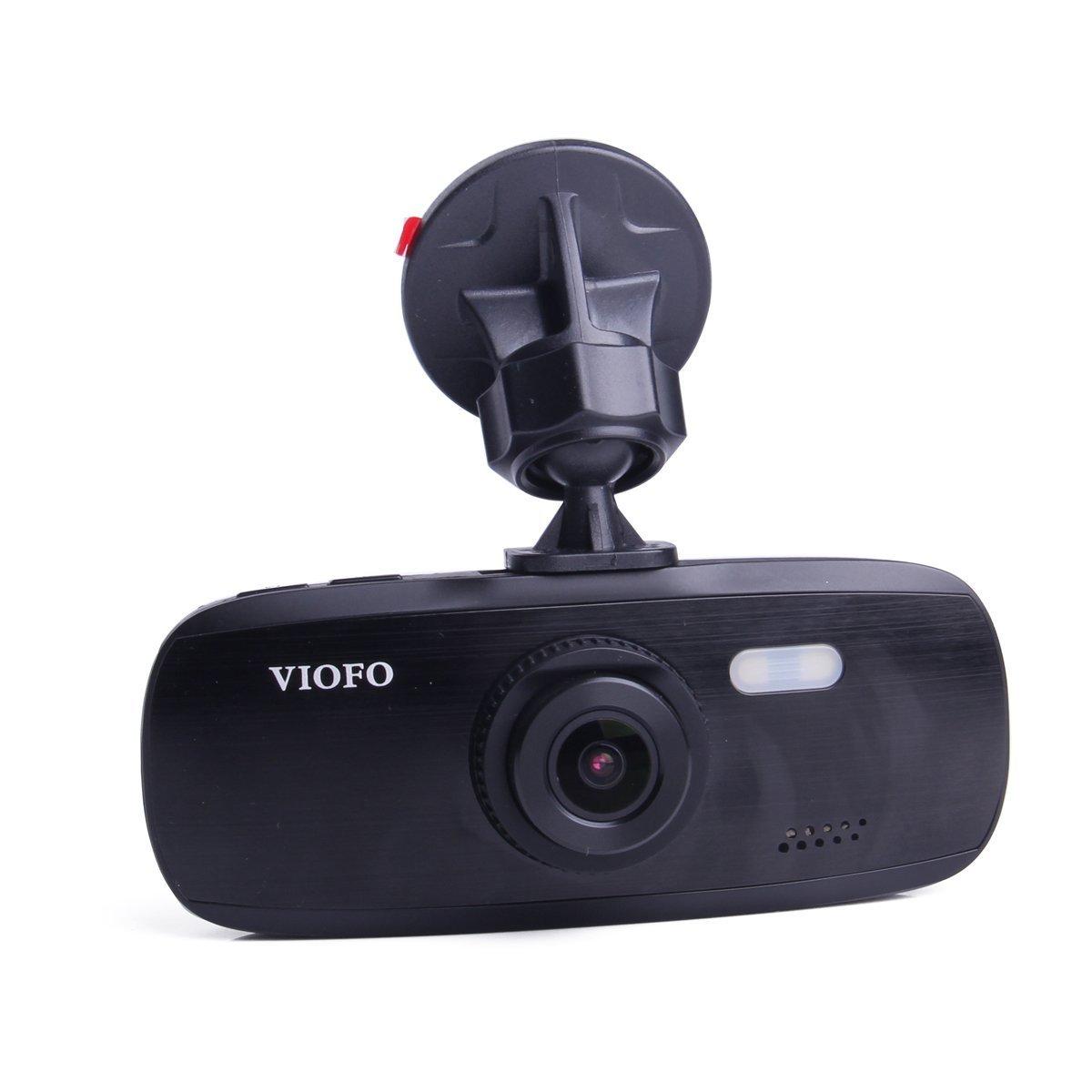 VIOFO G1W-S 2017 NT96650 + Sony IMX323 Car Dash Camera | Full 1080P HD Video & Audio Recording Car DVR Camera Recorder | G-Sensor Capabilities (New GPS Option)