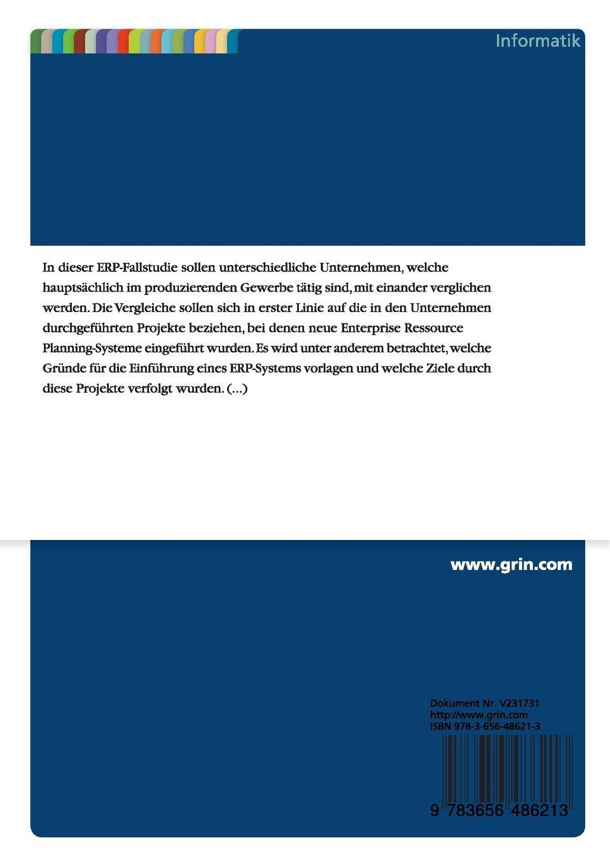 ERP-Fallstudien: Amazon.de: Karl-Philipp Böckmann, Ralf Schultze: Bücher