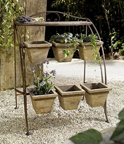 Metal Plant Stand for Outdoor or Greenhouse, Two Tiers Product SKU: - Cst Tier