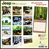 Jeep 2018 12 x 12 Inch Monthly Square Wall Calendar, Offroad Motor Car