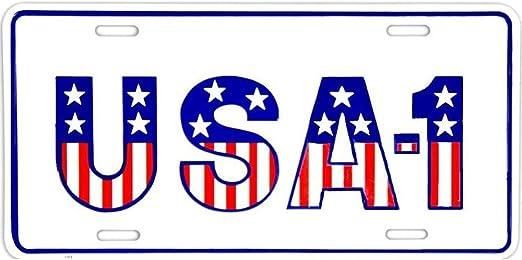 Signs 4 Fun SLA1 USA #1 License Plate
