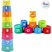 iDream Children's Educational Toy Building Blocks (Figures, Letters, Numbers) (9Pcs/set)