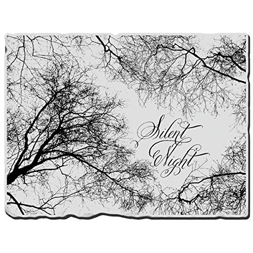 Stampendous, Cling Rubber Stamp, Silent Night