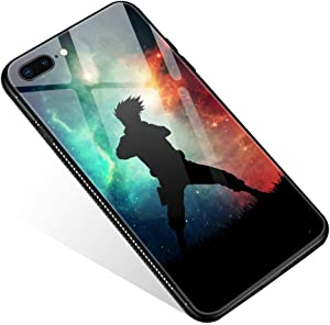 iPhone 8 Case,Tempered Glass iPhone 7 Cases iPhone SE 2020 Cases Ninja Junior for Women Girls Boys, Pattern Design Shockproof Anti-Scratch Case for Apple iPhone 7/8/SE2