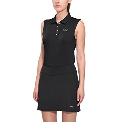 BALEAF Women's Golf Sleeveless Polo Shirts Tennis Tank Tops Quick Dry UPF 50+: Clothing