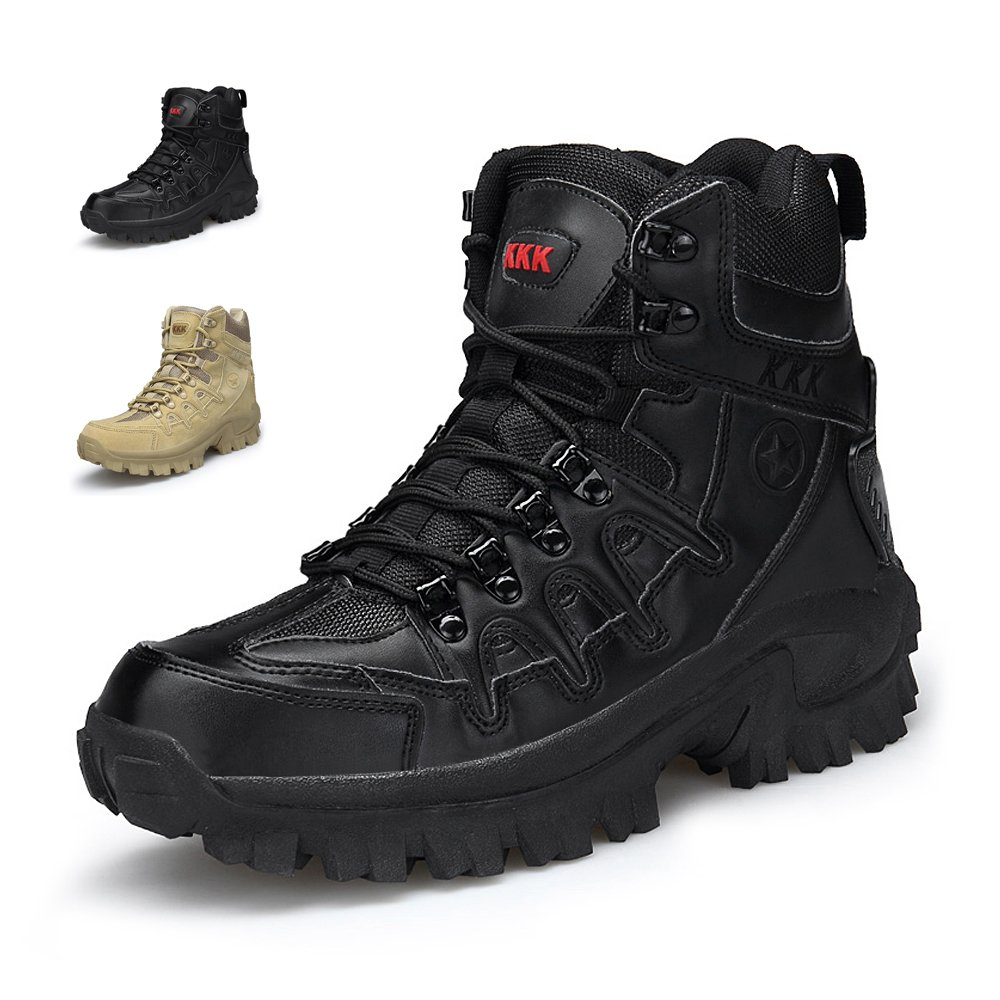 2ad8b62f9db ENLEN&BENNA Men's Army Boots Military Boots Tactical Boots Desert ...