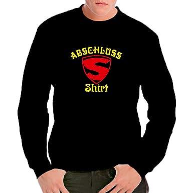 Fun Sprüche Unisex Sweatshirt   Super Abschluss Shirt By Im Shirt   Schwarz  S