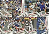 2017 Topps Series 1 & 2 Los Angeles Dodgers Team Set 28 Cards Corey Seager Clayton Kershaw Adrian Gonzalez