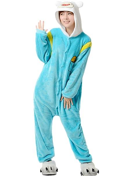 Ecollection - Pijama de una pieza - para mujer Amarillo Finlandés S