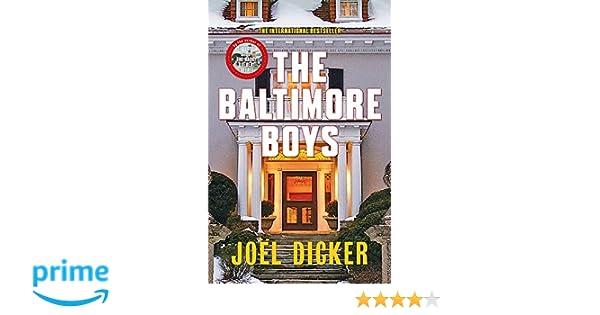 The Baltimore Boys: Amazon.es: Joel Dicker, Alison Anderson: Libros ...