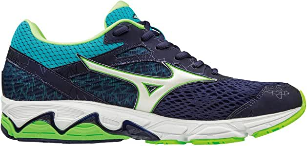 MIZUNO WAVE EQUATE 2 MARINO VERDE J1GC184802: Amazon.es: Deportes ...
