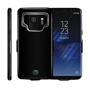 Idealforce - Funda para Samsung Galaxy S9/S9 Plus, Cargador de batería Externo, 7000 mAh, magnética, Cargador portátil, Funda de Carga Protectora para ...