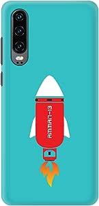 Stylizedd Huawei P30 Slim Snap Basic Case Cover Matte Finish - Amman-13