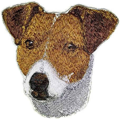 Jack Russell Embroidered Patch