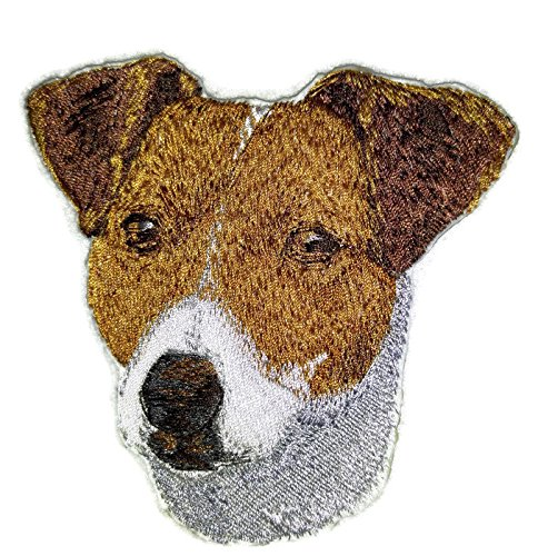 Amazing [Jack Russell Dog Face] Embroidery Iron On/Sew patch [4