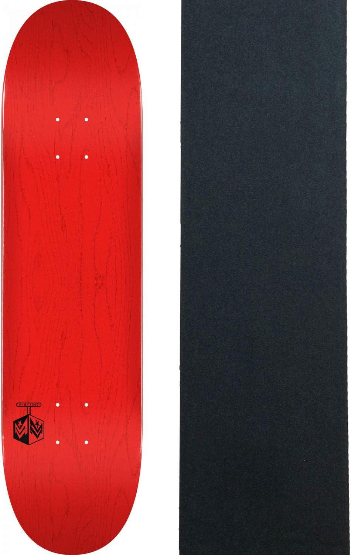 Mini-Logo Skateboard Deck K20 Chevron Detonator Red 8.5 x 32.08 with Grip