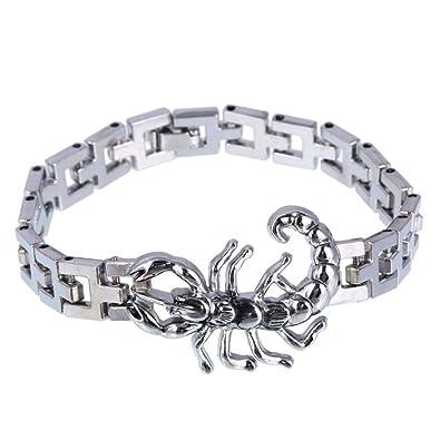 Scorpion Inoxydable Bracelet Acier Bijou HommeBijoux LzMpqGSUV