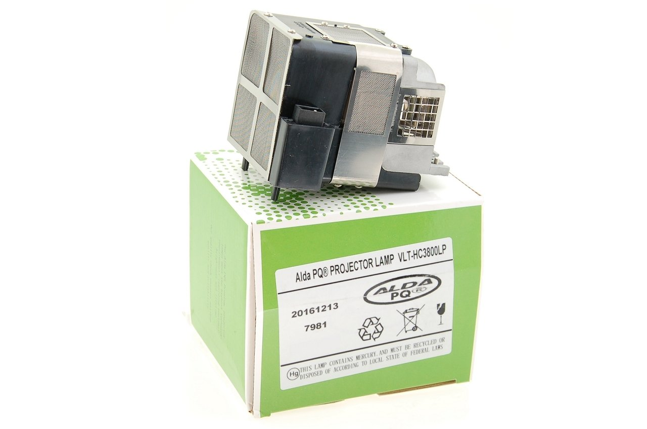 Lampe mit Geh/äuse HC4000 Projektoren Beamerlampe // Ersatzlampe kompatibel mit 499B056O20 VLT-HC3800LP f/ür Mitsubishi HC3200 HC3800 Alda PQ-Premium HC3900