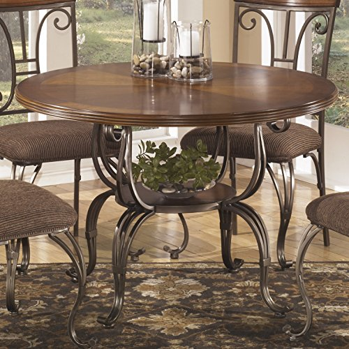 Plandybird brown round dining room furniture set table w for Kitchen set node attributes