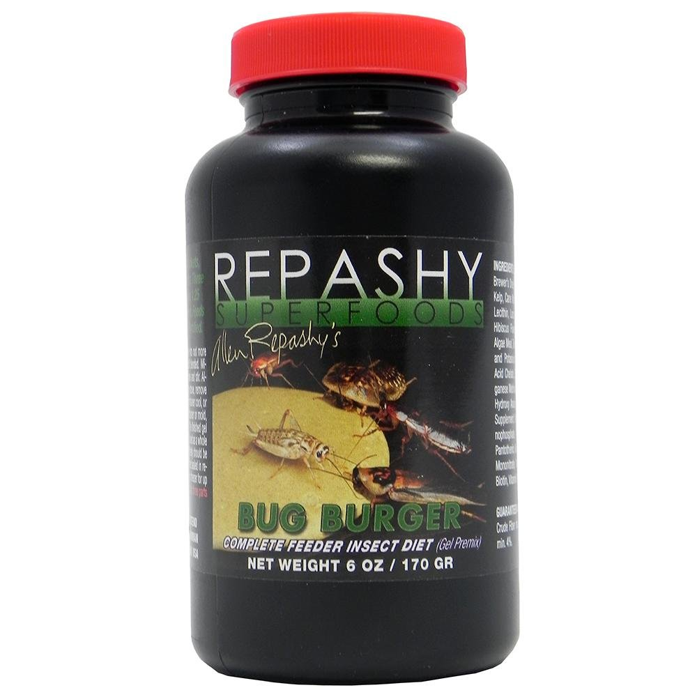 Repashy Bug Burger (3oz) - Complete Insect Diet - Keep Feeders Alive Longer