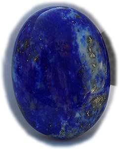 The Best Jewellery Lapis Lazuli cabochon, 43Ct Lapis Lazuli Gemstone, Oval Shape Cabochon For Jewelry Making (27x20x8mm) SKU-15116