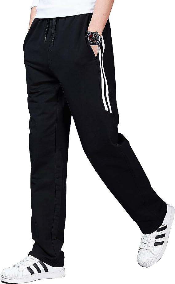 Herren Jogginghose Trainingshose Sporthose Jogger Freizeit Sweatpants Baumwolle
