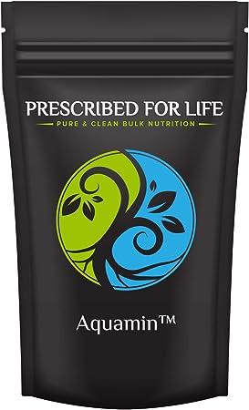 Prescribed for Life Trace Minerals | AquaMin (F) Red Marine Algae Calcium & Mineral Complex | Organic Powder Supplement, 4 oz (113 g)