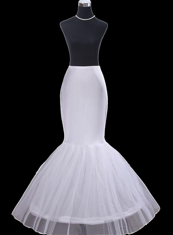Meerjungfrau Brautkleider Reifrock Petticoat Unterrock Brautkleider ...