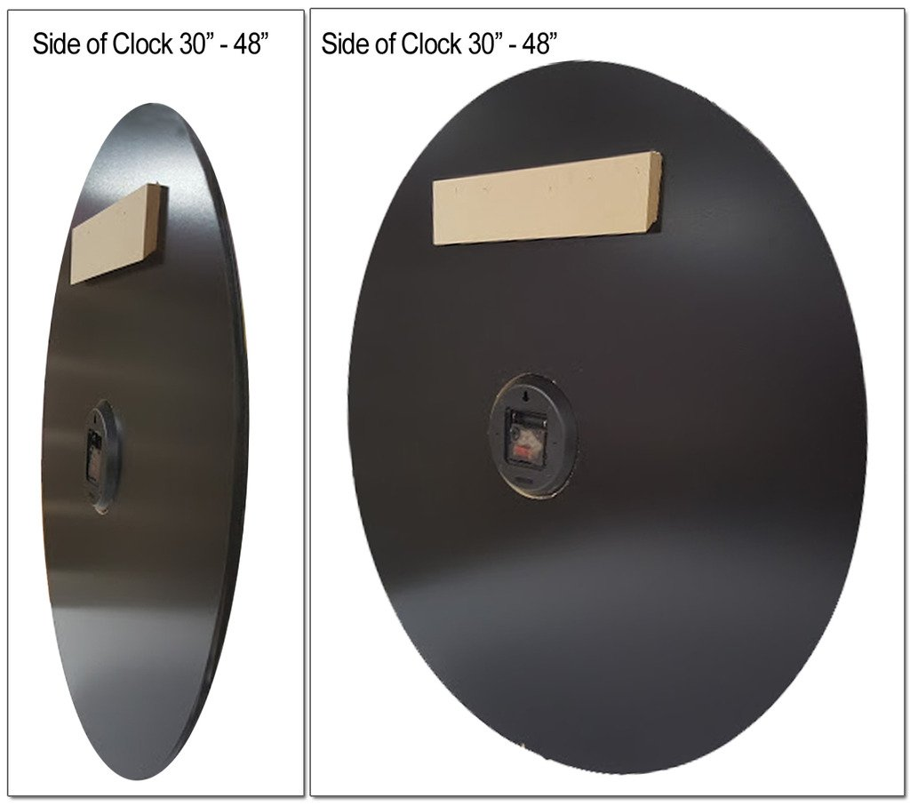 Waterford Wall Clock, Available in 8 sizes, Most Sizes Ship the Next Business Day, Whisper Quiet. by The Big Clock Store (Image #4)