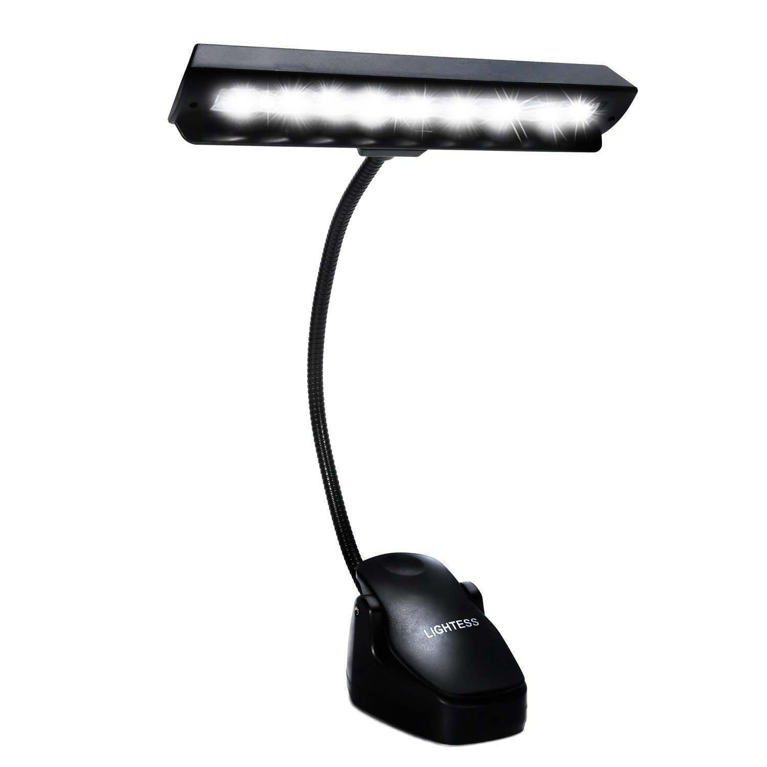 best rated in music stand lights helpful customer reviews. Black Bedroom Furniture Sets. Home Design Ideas