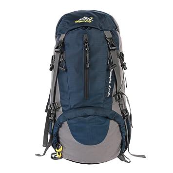 50L impermeable roomy ligero deportes al aire libre mochila, transpirable Casual mochila portátil bolsa,