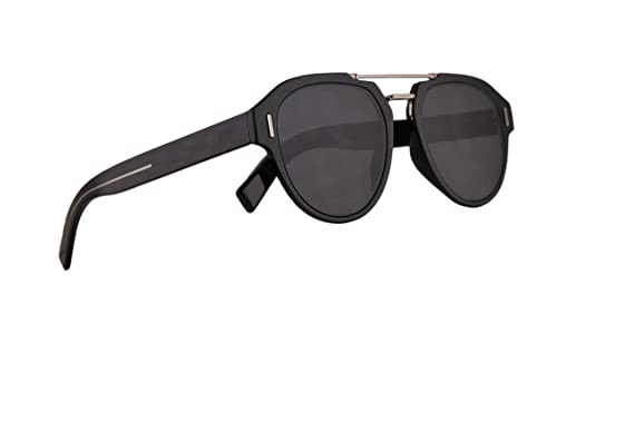 3ceaf639fb02d Image Unavailable. Image not available for. Color  Christian Dior Homme  DiorFraction5 Sunglasses Black ...