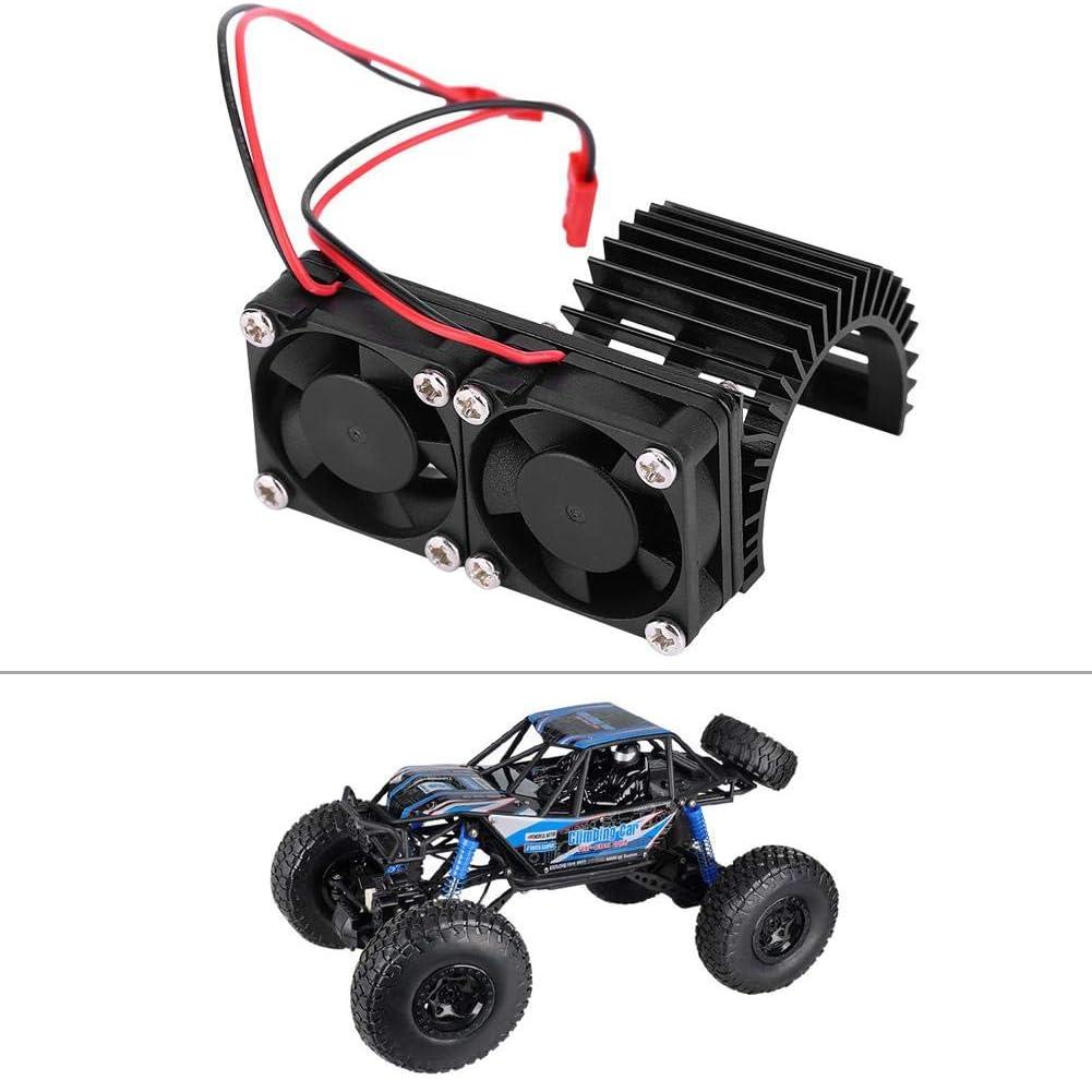 RC-Motork/ühlk/örper 10-Motor-RC-Car-Ersatzteile im Ma/ßstab 540 550 Motork/ühlk/örper mit seitlichem L/üfter f/ür 1